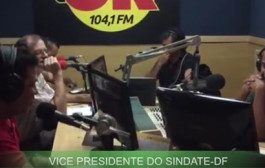 Vice-Presidente do Sindate-DF ao vivo na Rádio OK FM