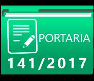 PORTARIA 141-2017