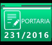 PORTARIA 231-2016