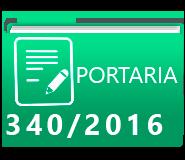 PORTARIA 340-2016