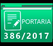 PORTARIA 386-2017
