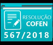 RESOLUÇÃO 567-18